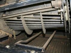 Die besten Ergebnisse lassen sich bei Soja mit Axialdrusch erzielen. Optimal ist dabei der Einsatz eines Maiskorbes. Foto: Taifun Tofuprodukte
