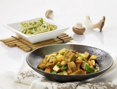 Tofu-Pilzpfanne. Foto: Taifun Tofuprodukte